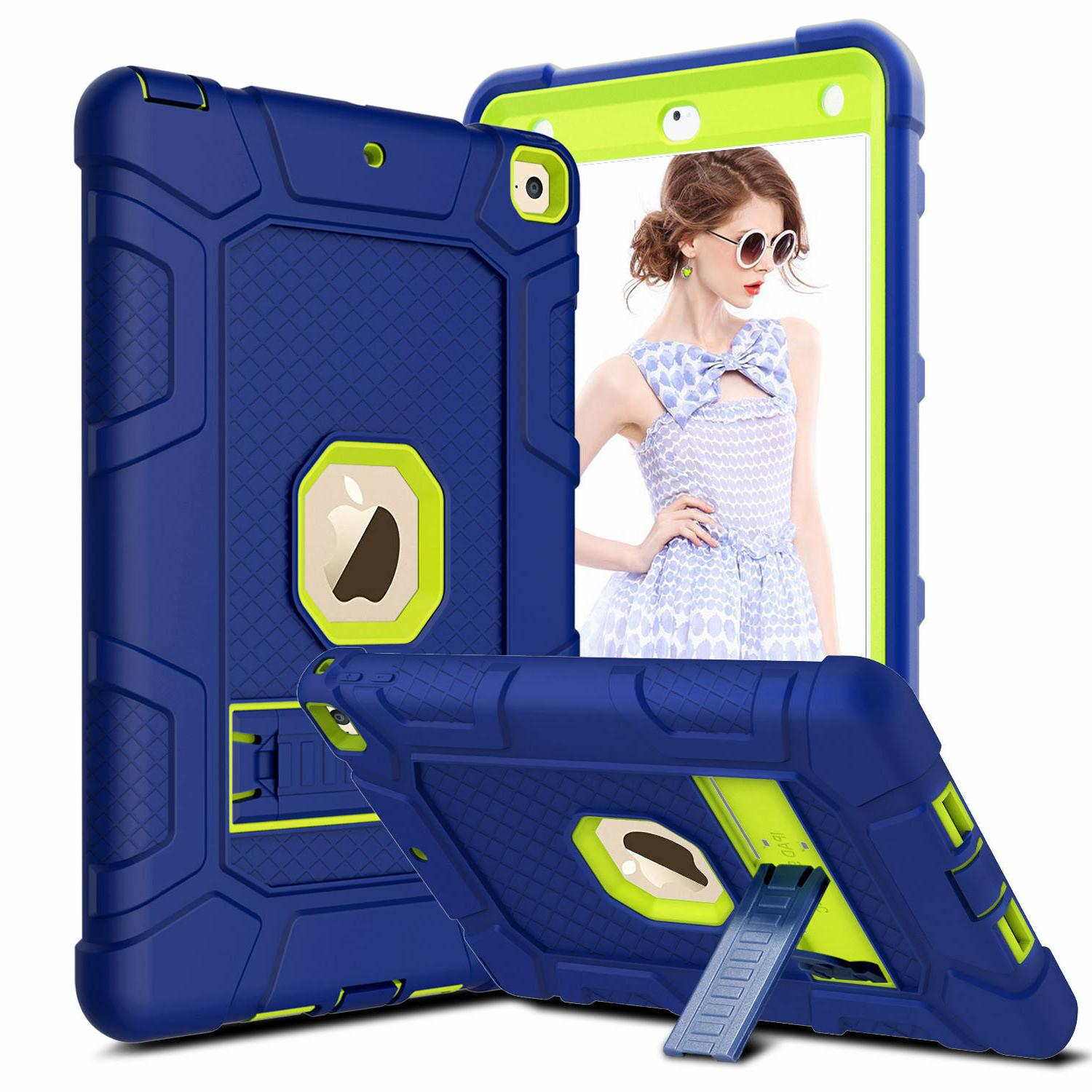 For 10.2'' 2019 7th / 6th Generation 9.7'' 2018 Case Shockproof Stand