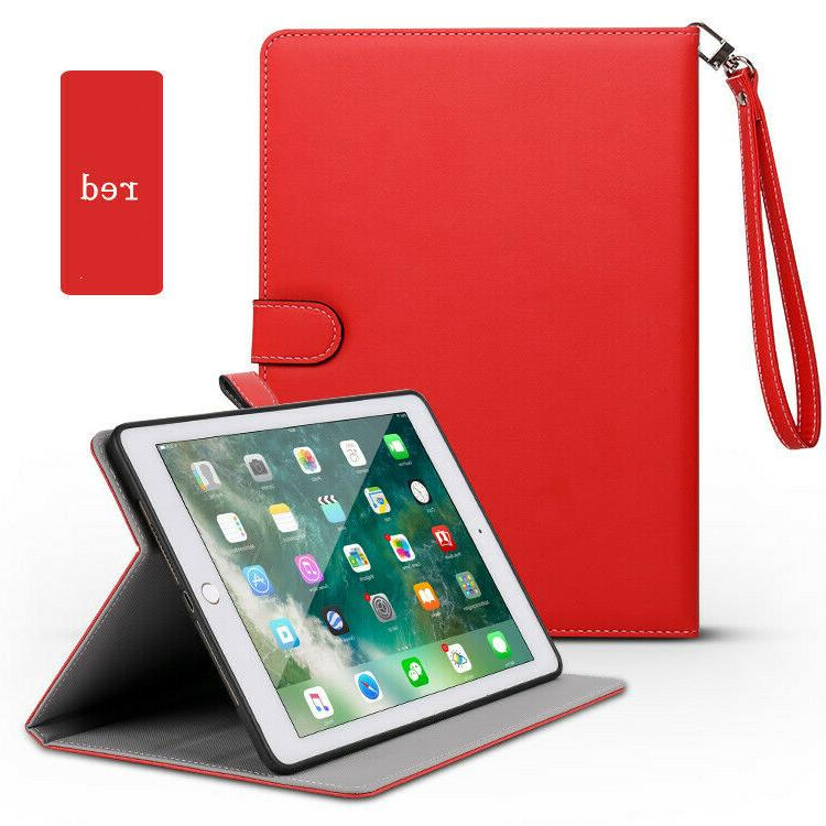 """iPad 7th 10.2"""" 2019 Leather Case Magnetic Smart Cover For Apple"""