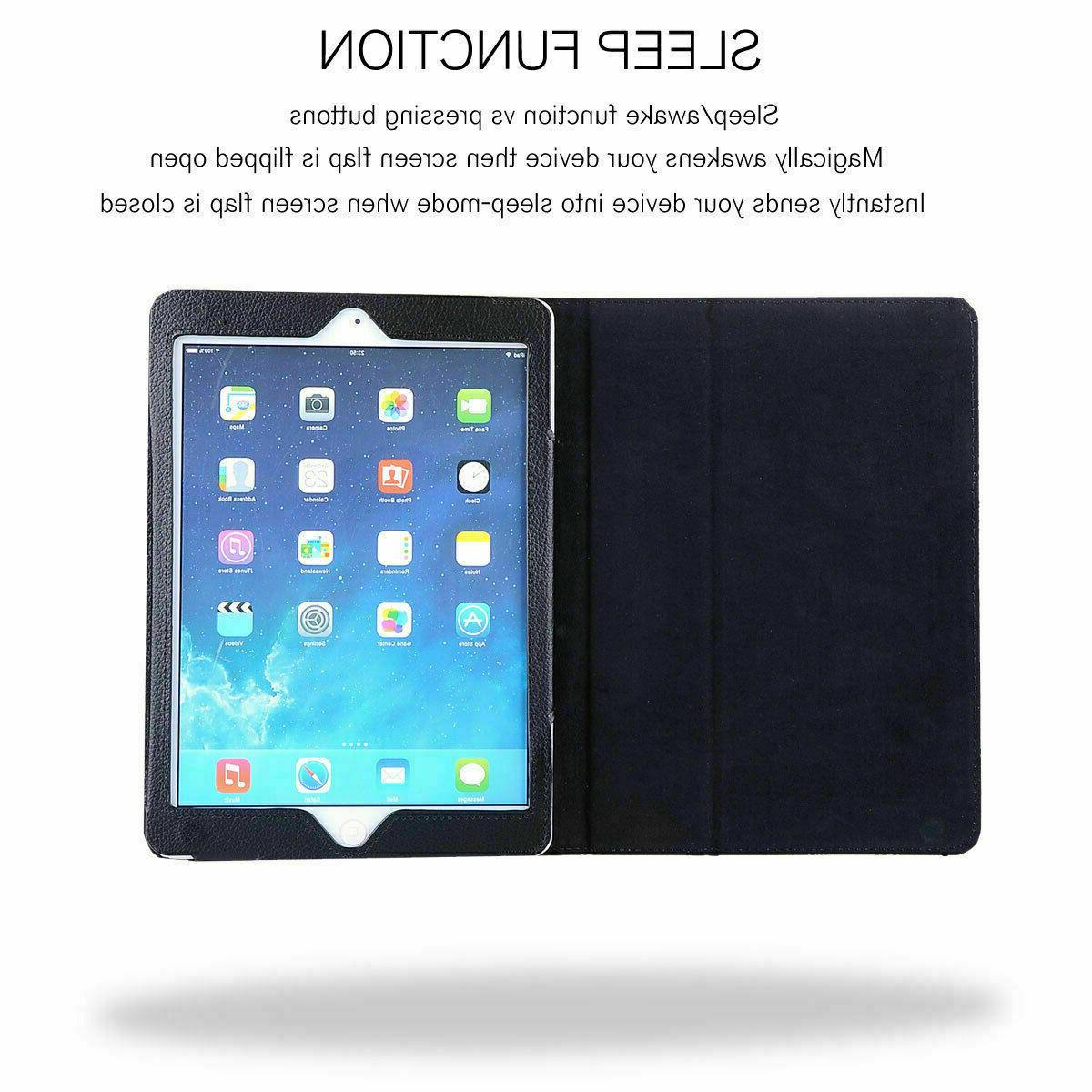 """For Gen 2019 10.2"""" Leather Smart Stand Folding Cover"""