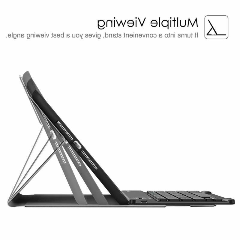 Fintie 9.7 Keyboard with Built-in Pencil Holder,
