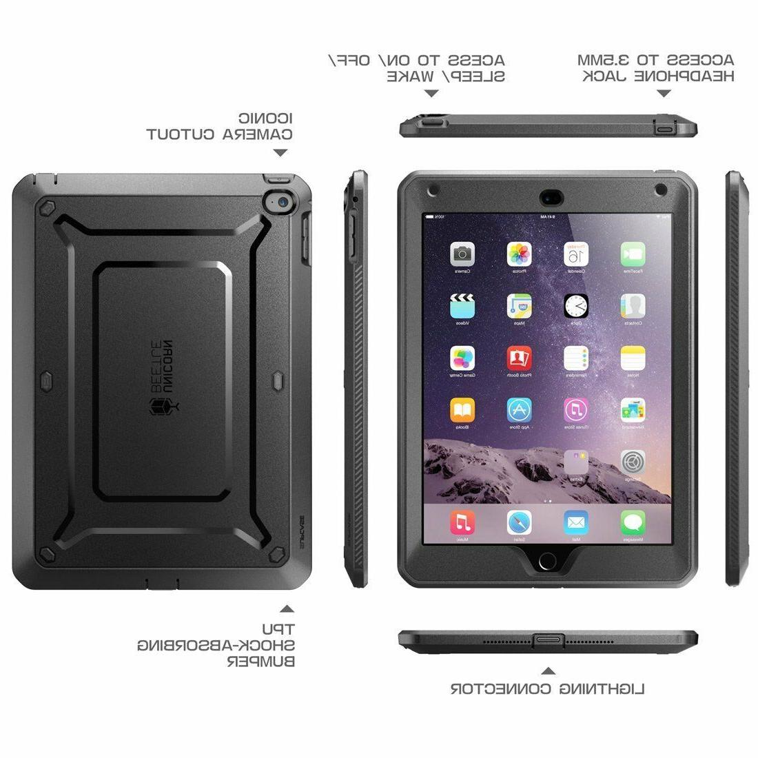 iPad Air 2 Case SUPCASE Fullbody Case Builtin Protector