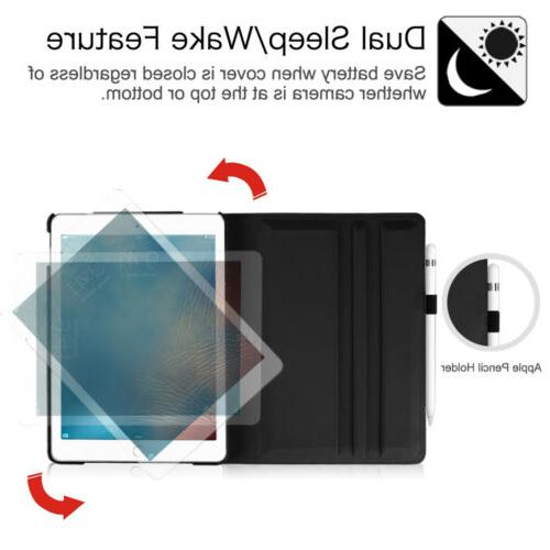 Fintie For iPad 9.7 Leather Cover 360°Rotating Stand Case