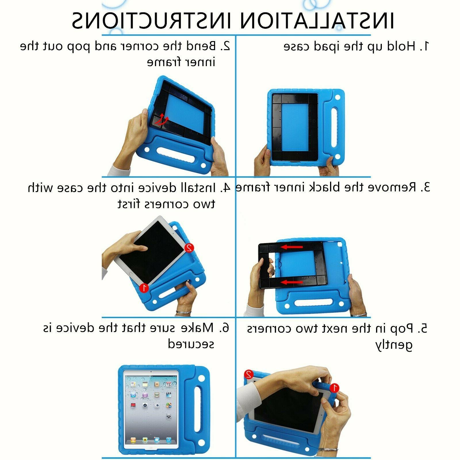 For Apple 8th / 2020/2019 Kids Stand Foam Cover