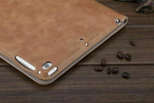 """Luxury PU Leather Wallet Smart Stand For iPad 2 3 4 9.7"""""""