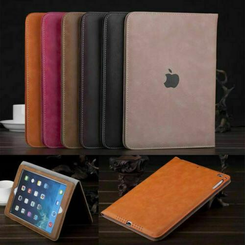 luxury pu leather wallet smart stand case