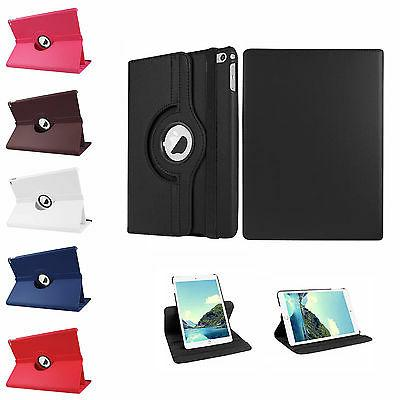 new 360 rotating pu leather case smart
