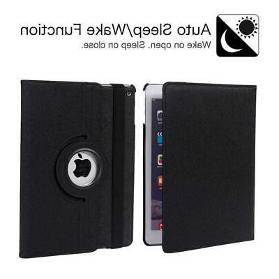 """NEW Rotating Wallet Cover PU Leather Folio Case for iPad 10.2"""""""