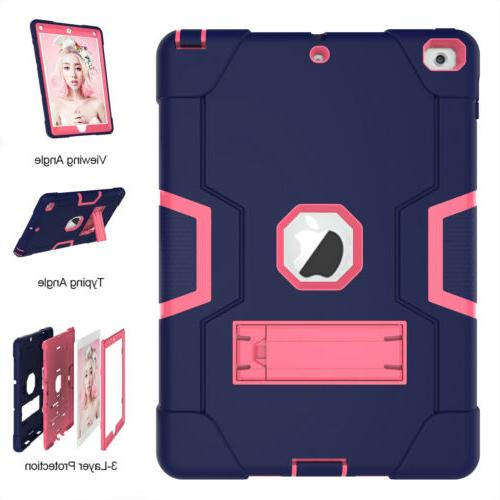 7th Hard Rubber Case Stand Shockproof Cover