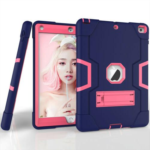 """For New iPad 10.2"""" 7th Hard Rubber Shockproof Cover"""
