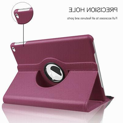 For New iPad 2018 Rotating Smart Case