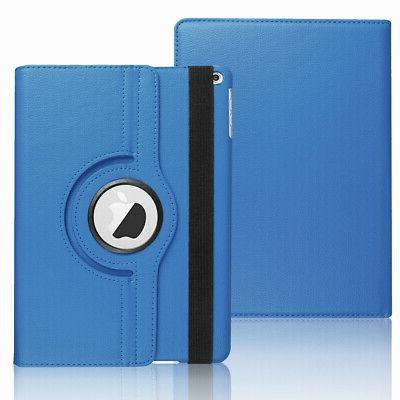 For New iPad 9.7 2018 Rotating Case Cover