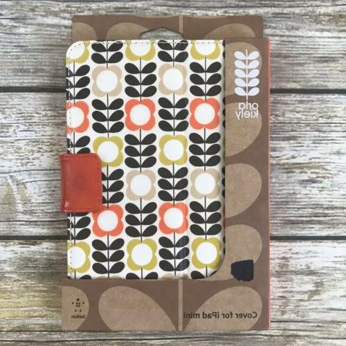orla kiely ipad mini case brown yellow