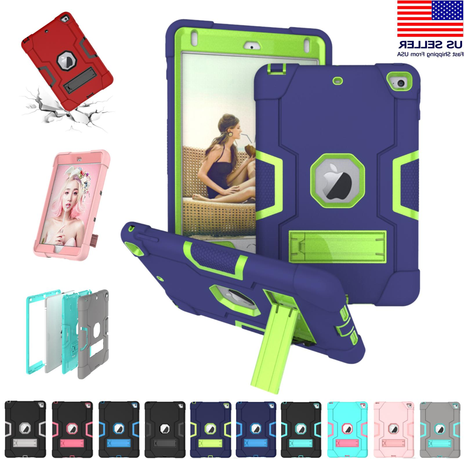 shockproof heavy duty hard case stand cover