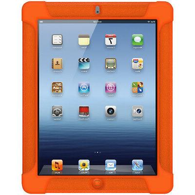 AMZER SILICONE SOFT SKIN JELLY CASE FIT - ORANGE