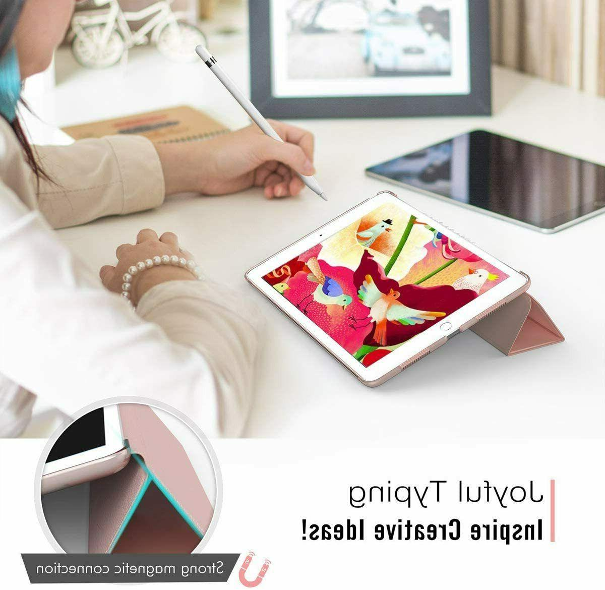 """Smart Magnetic Stand Front+Back Cover for iPad 10.2""""10.5"""
