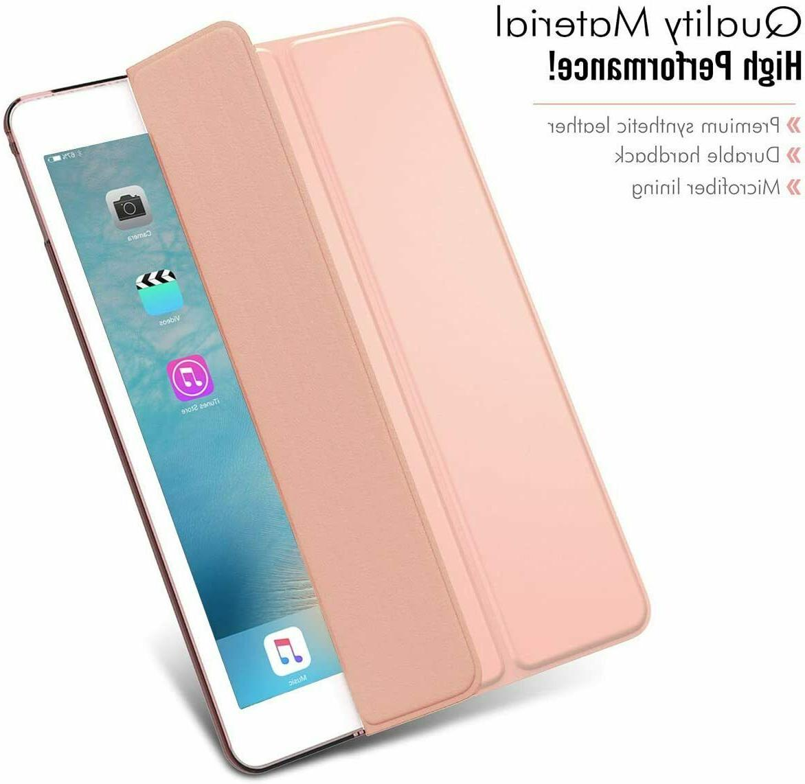 Smart Magnetic Flip Stand Front+Back Case iPad 2/3/4 9.7Mini