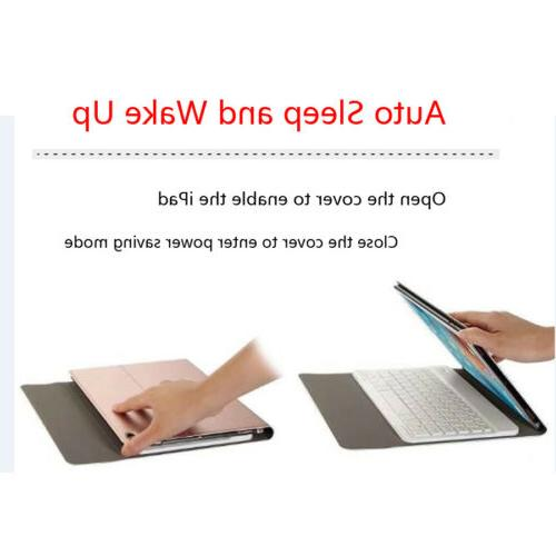 Smart Bluetooth Keyboard With Slim Cover For