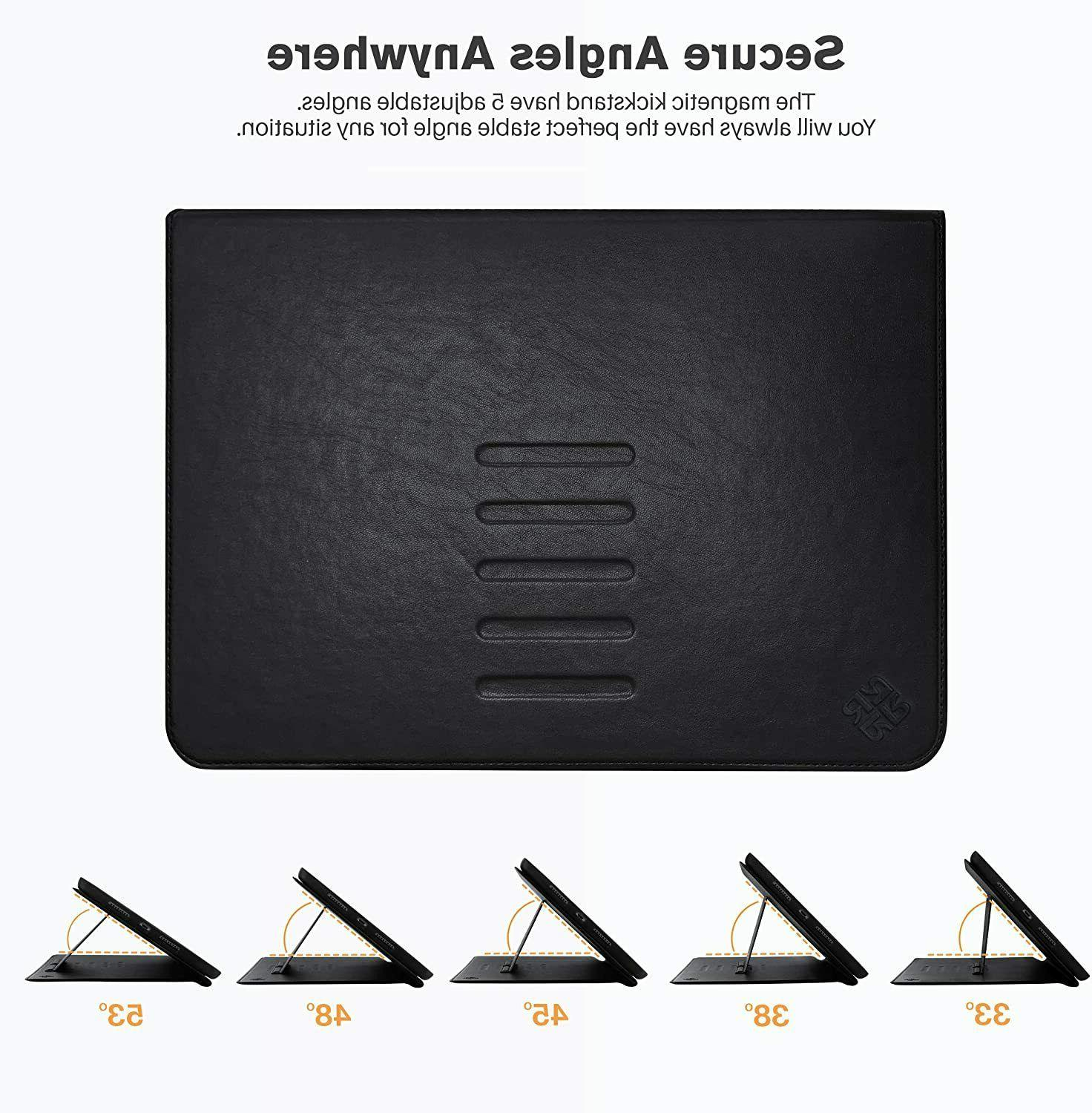 Roocase Sunset iPad 10.2 2019 Leather - Magnetic