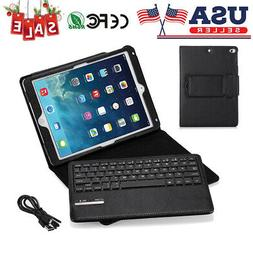 For Apple iPad 5/6 /Air /Air 2 Stand Leather Case Cover with