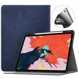 MoKo Case Fit IPad Pro 12.9 2018 with Apple Pencil Holder Su