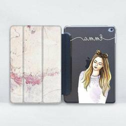Monogram iPad 2 3 4 Smart Cover Cute Girl iPad Air Mini Pro