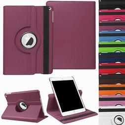 """For iPad 9.7 6th / 7th Generation 10.2"""" Rotating Leather Sma"""