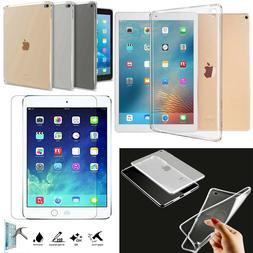 new smart clear gel case cover tempered