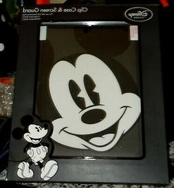 NEW DISNEY STORE MICKEY MOUSE CLIP CASE & SCREEN GUARD FOR 3