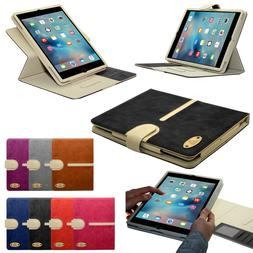 New Stylish Suede Leather Smart Flip Wallet Stand Case Cover