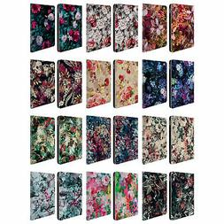 OFFICIAL RIZA PEKER FLOWERS LEATHER BOOK WALLET CASE COVER F