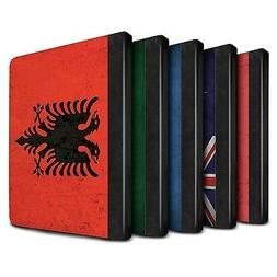 STUFF4 PU Leather Book Case/Cover for Apple iPad 9.7 /Flags
