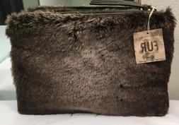 Restoration Hardware RH Luxe Faux Fur Case for iPad Tablet M