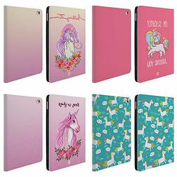 HEAD CASE DESIGNS SASSY UNICORNS LEATHER BOOK WALLET CASE CO