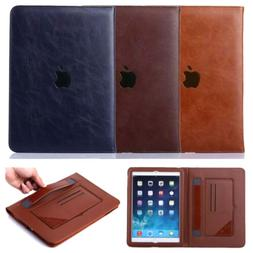 Slim PU Leather Tablet Folio Stand Case Cover For iPad 2/3/4