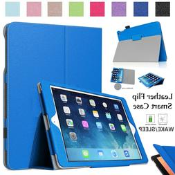Slim Smart Leather Stand Flip Case Cover For iPad 9.7 Inch A