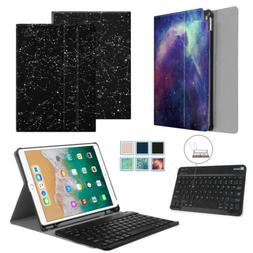 Fintie SlimShell Stand Case + Wireless Keyboard for iPad Air