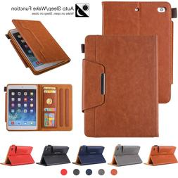 Smart Leather Case For iPad 9.7 6th Generation 2018/5th Gen