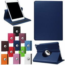 "For iPad 7th Generation 10.2"" Tablet Case Leather 360 Rotati"