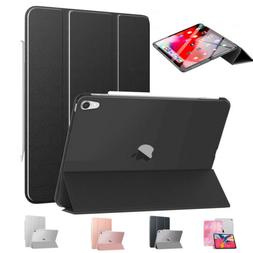 MoKo Smart Shell Stand Case Translucent Frosted Back Cover f