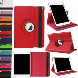 Stand Leather Rotating Flip Case Shockproof Cover For iPad 9