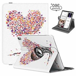 TiMOVO Case for iPad Pro 12.9 Inch 2018, 360 Degree Rotating