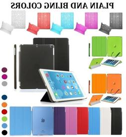 UK Smart Magnetic Leather Stand Case Cover for iPad 2 3 4 Ai