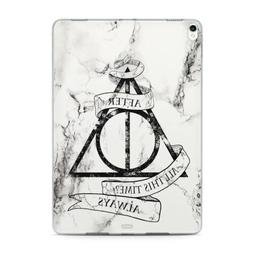 White Marble iPad 9.7 5 6 Gen Silicone Case Harry Potter iPa