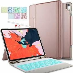 IVSO Wireless Keyboard Case Cover Stand For iPad Pro 12.9 20