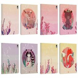 HEAD CASE DESIGNS WOODLAND ANIMALS LEATHER BOOK CASE FOR APP